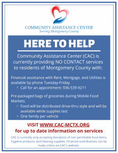 CAC is Here to Help