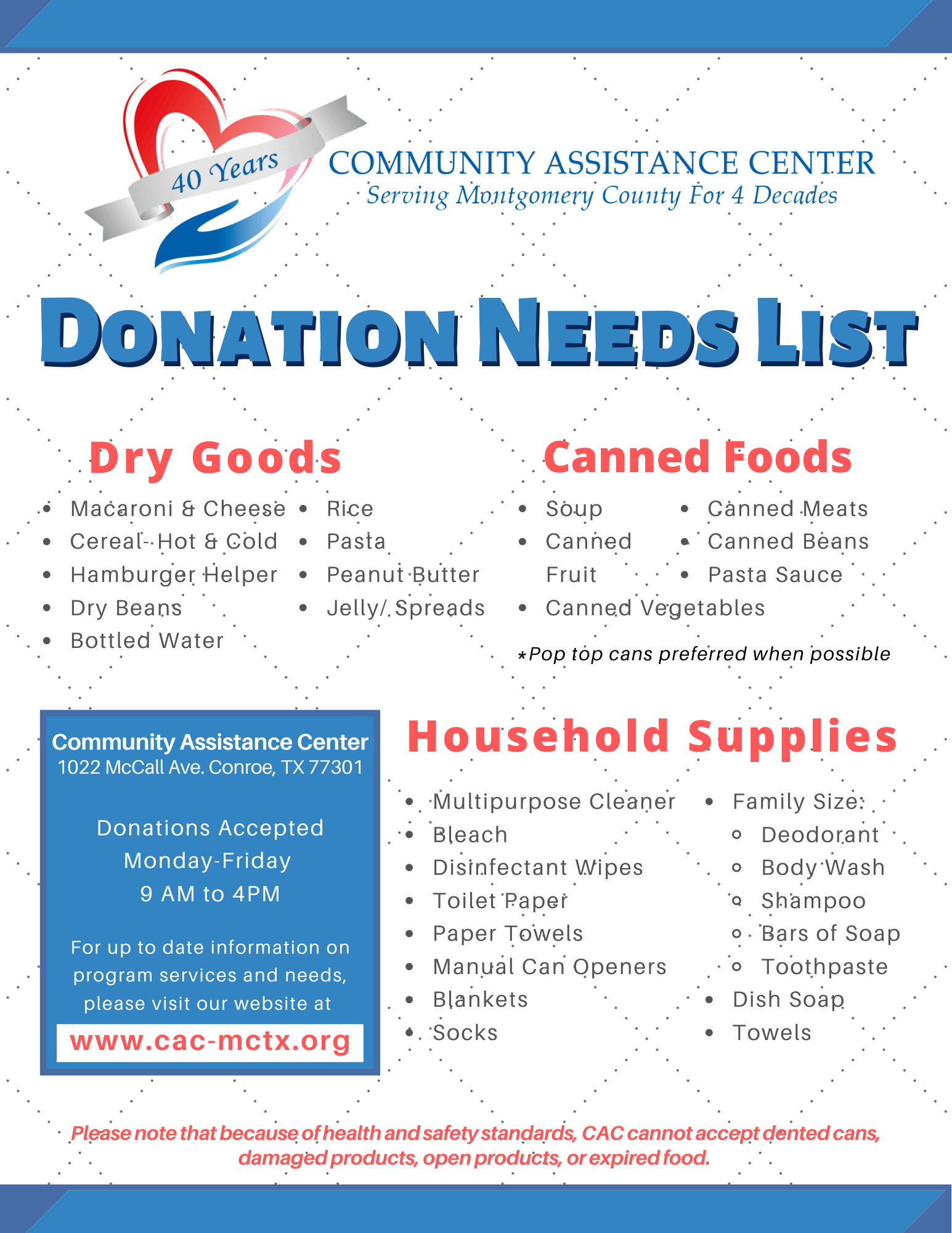 Donation Needs List 2021 (2)